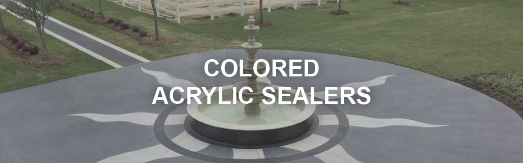 Colored Outdoor Concrete Floor Paint and Sealer Products