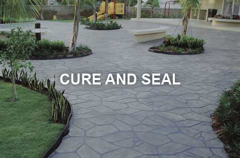 Concrete Cure and Seal Products for Freshly Poured Concrete