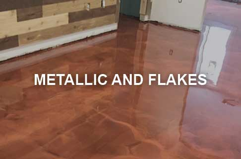 SureCrete Epoxy Flake and Metallic Pearl Additives