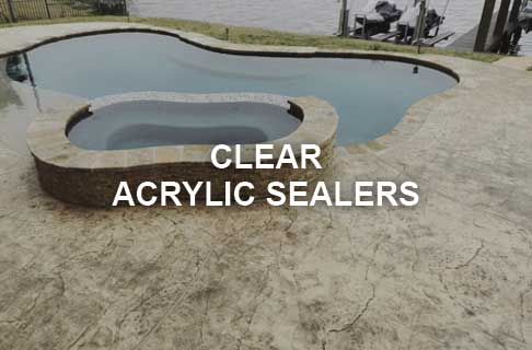 Outdoor Clear Concrete Sealer Products