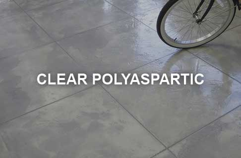 Polyaspartic Fast Cure Clear Floor Coating Products