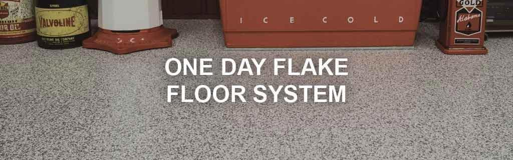 One Day Flake Floor System Products