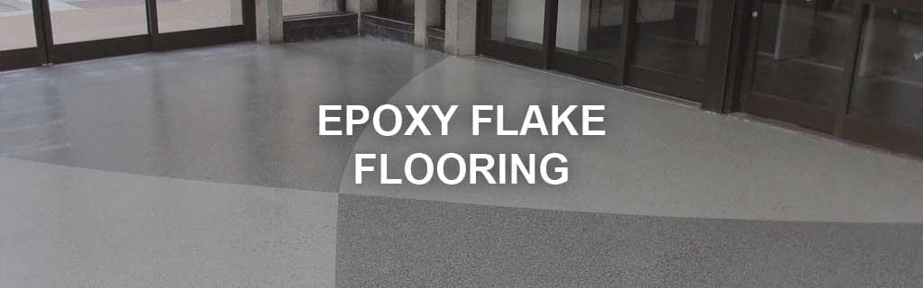 epoxy flake floor system