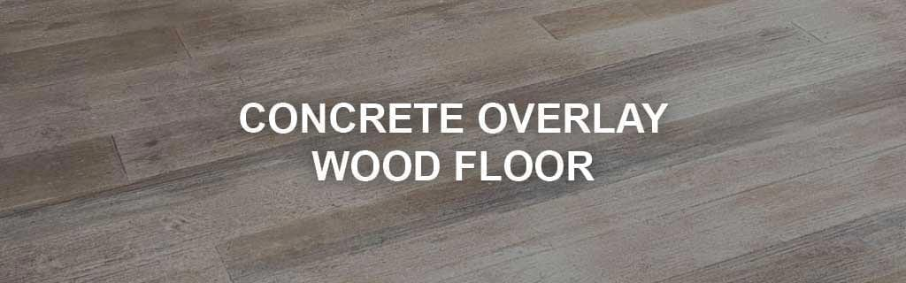 concrete wood floor system products