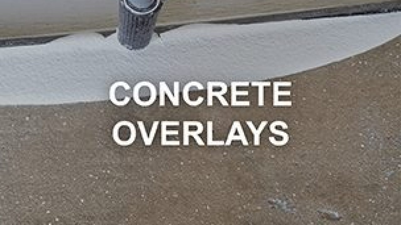 Concrete Overlay Bag Mixes Designed for Walls and Floors