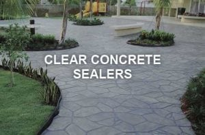 Clear Concrete Sealers Products