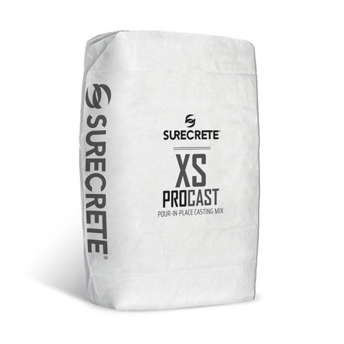 XS PROcast™ Pour in Place Casting Mix for Concrete Countertops and Furniture